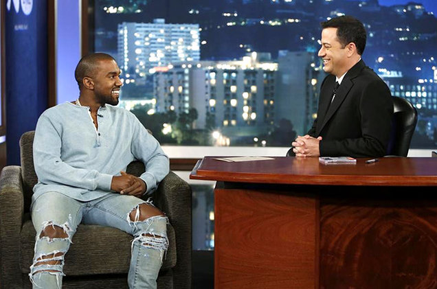 Kanye West to Appear on 'Jimmy Kimmel Live!'
