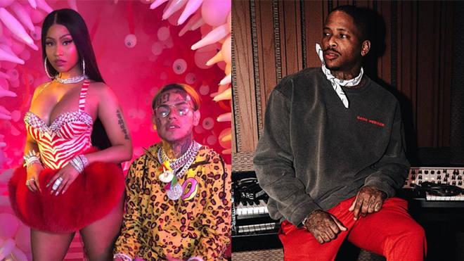 Nicki Minaj Intervenes in Tekashi 6ix9ine's and YG's Social Media Feud