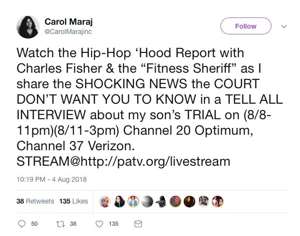 Nicki Minaj's Mother Ready To Share Shocking News About