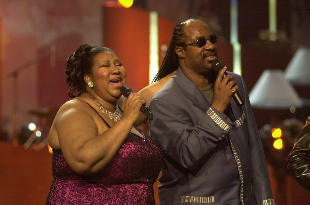 Stevie Wonder Visited Aretha Franklin Before She Passed Away