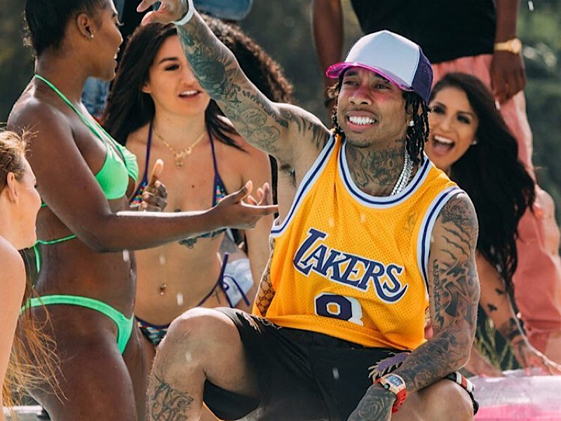 Tyga May be Launching a Weed Strain After his Hit Single, 'Taste'