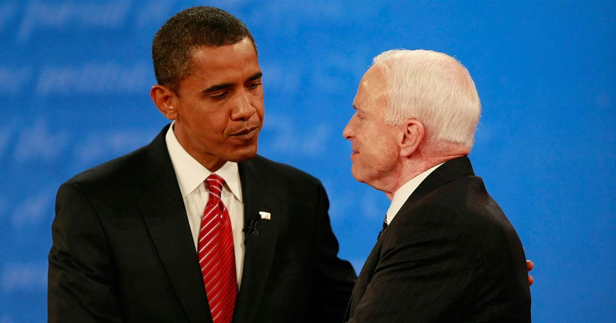 Video Resurfaces of John McCain Defending Barack Obama Against Bigotry