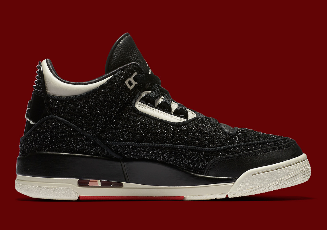 "new arrival 70568 57c81 Check out both the red and black versions of the Vogue x Air Jordan 3 ""AWOK""  below, and expect them to arrive next week Friday (September 7) exclusively  in ..."