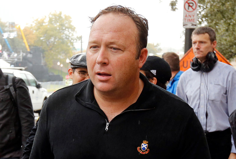 FCC Boots Alex Jones from Airwaves