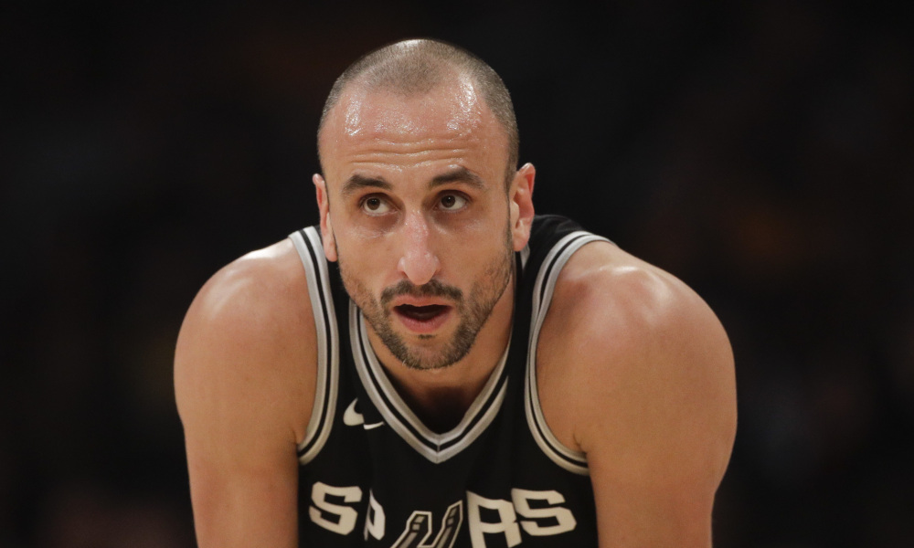 bef8005e6 The San Antonio Spurs Announced They Will Retire Manu Ginobili s Number 20