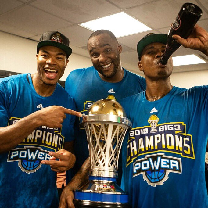 Power Defeats 3's Company to Win The Big3 League Championship