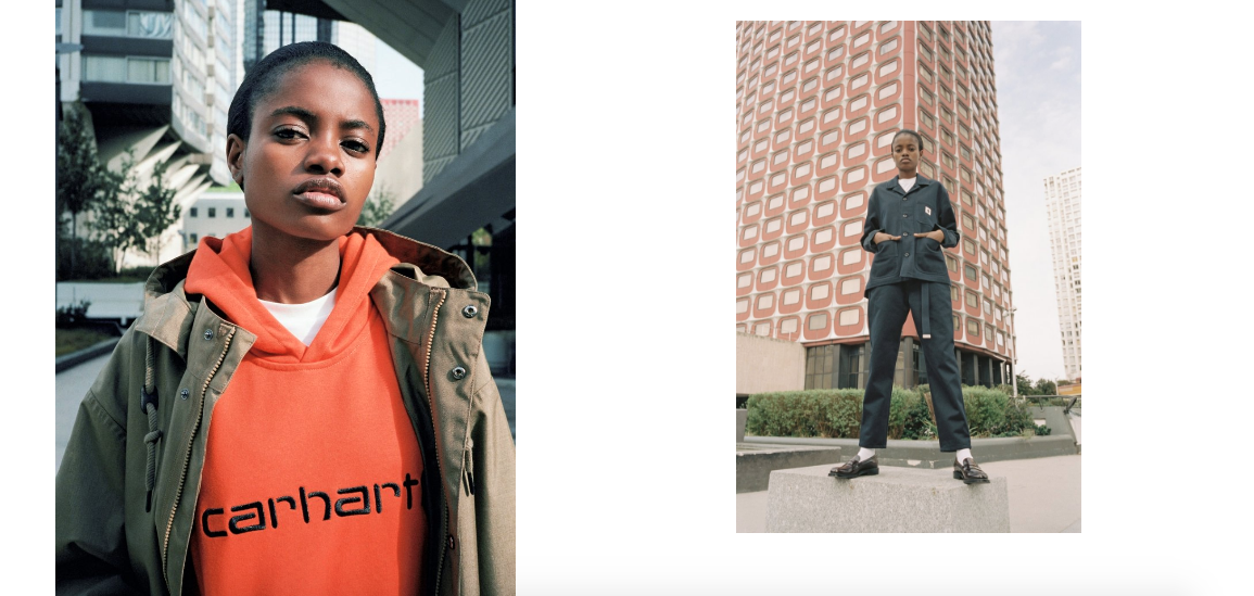Carhartt WIP Fall/Winter 2018 Women's Lookbook