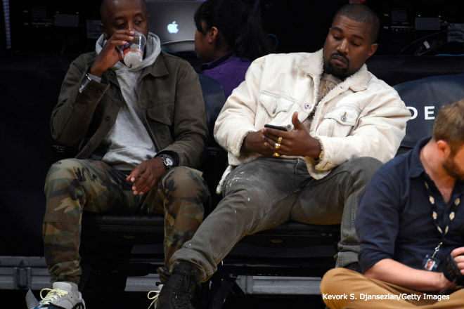 Kanye Doesn't Appreciate Drake Texting Him Demon Emojis