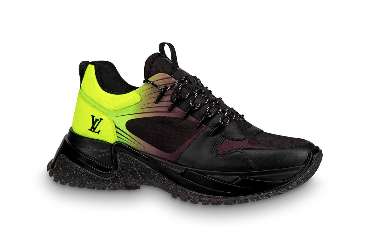 178611716d2 Louis Vuitton Monogram Fluo Run Away Pulse Sneaker | The Source