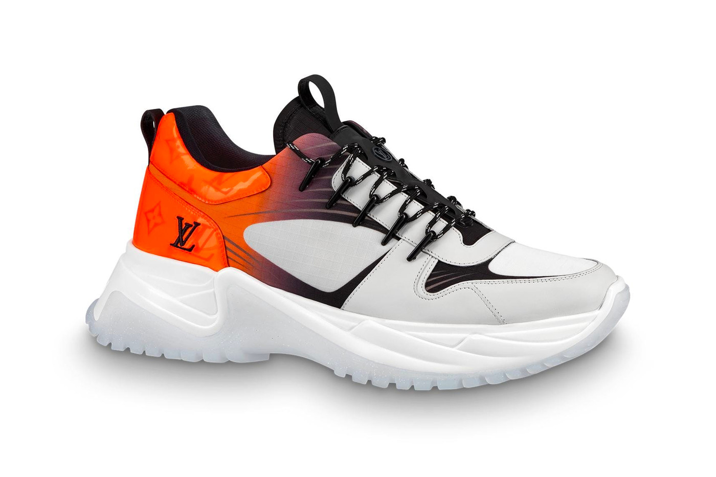 louis vuitton monogram fluo run away pulse sneaker