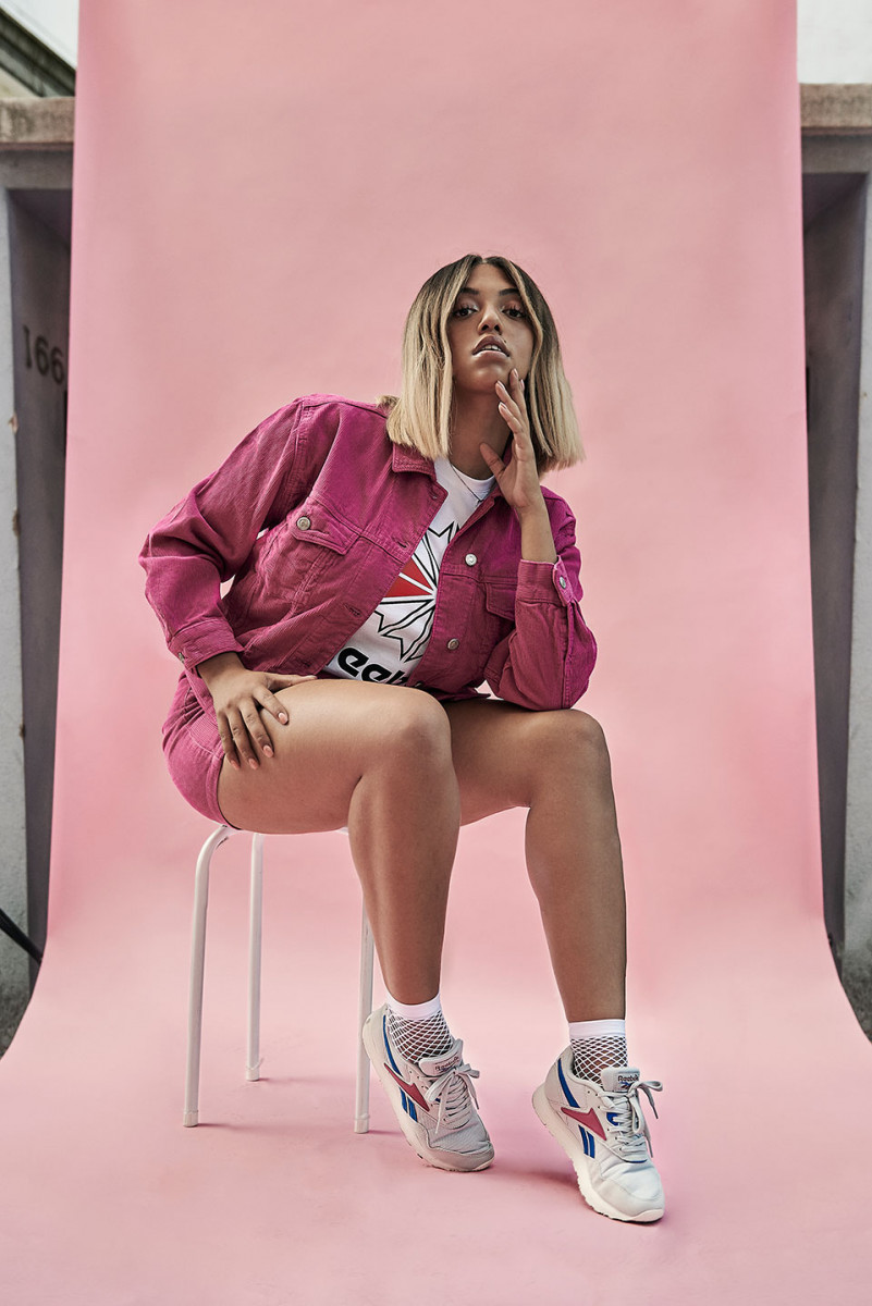 734bfe32a59 Peep Mahalia rolling through East London in the Reebok Rapide Fall Winter  2018 campaign