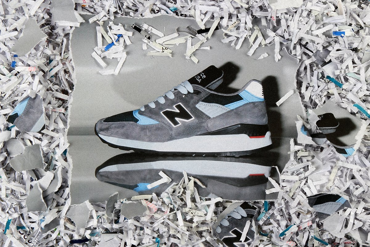 new balance made in usa  grey blue
