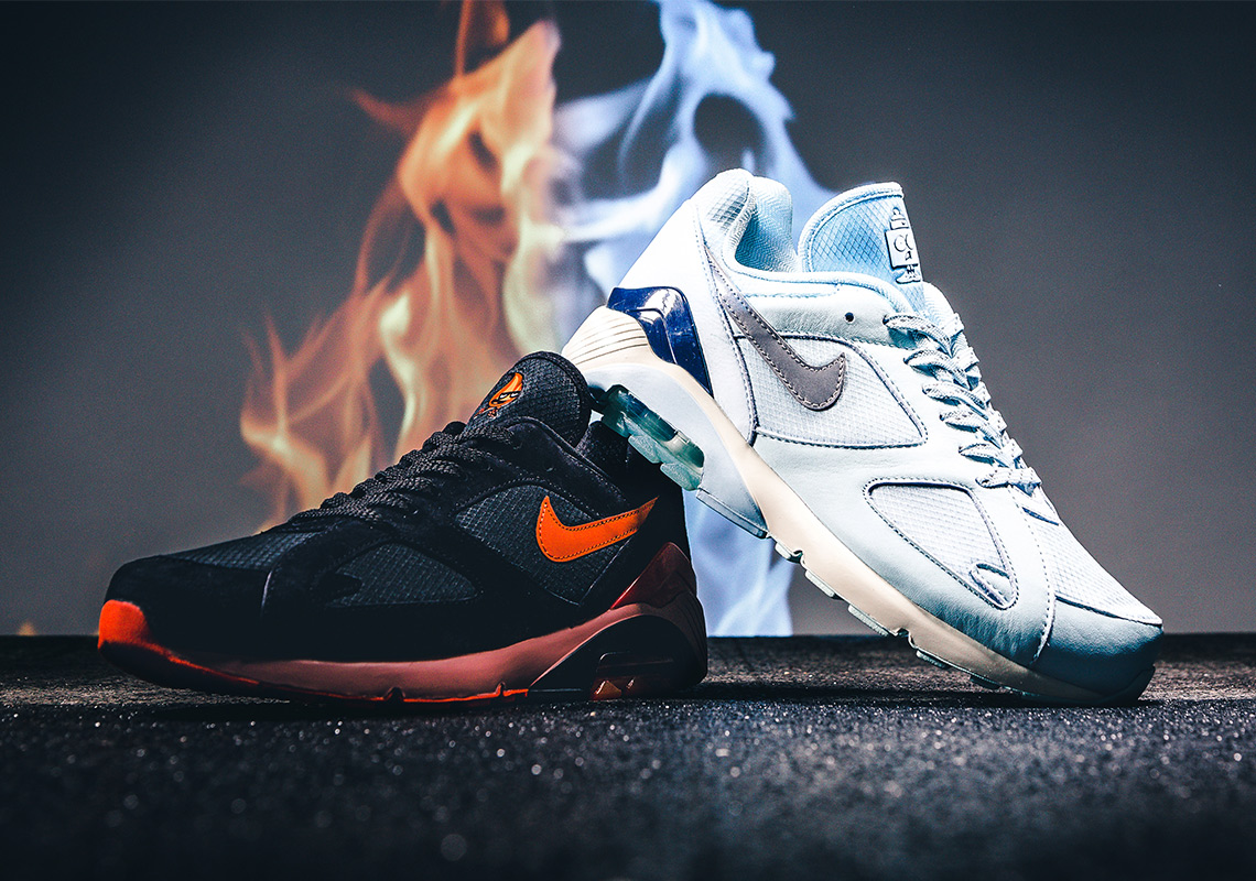 nike air  fire and ice pack