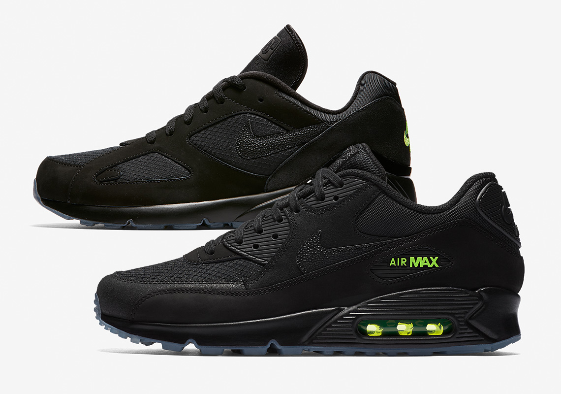 "reputable site 8357a 4d78e All Black Everything  Nike Air Max ""Night Ops"" Pack"