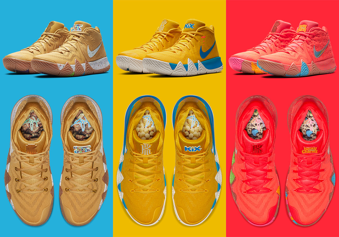 nike kyrie  cereal pack