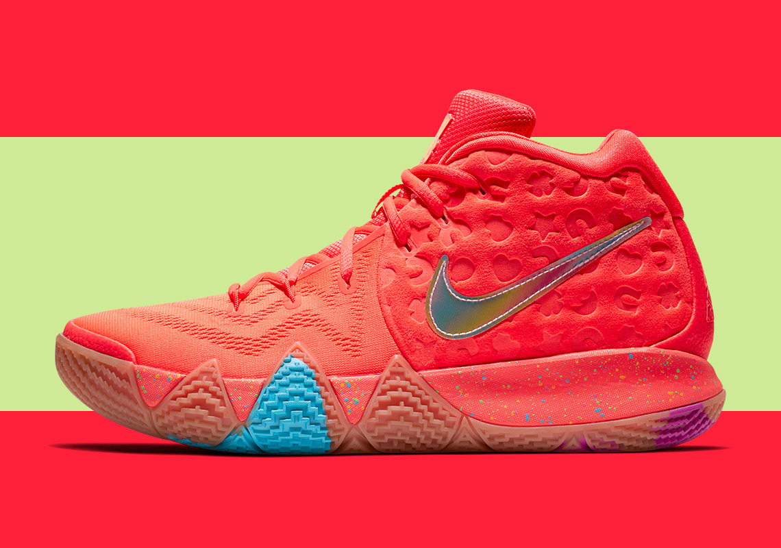 sale retailer b8c51 61e8d Finish Your Breakfast: Check Out the Nike Kyrie 4