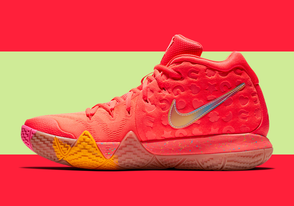 sale retailer a545f 54229 Finish Your Breakfast: Check Out the Nike Kyrie 4