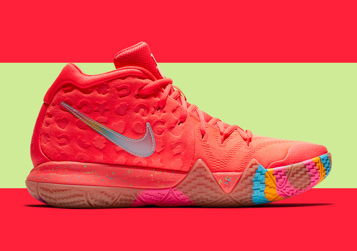 sale retailer 78e88 7ae9e Finish Your Breakfast: Check Out the Nike Kyrie 4