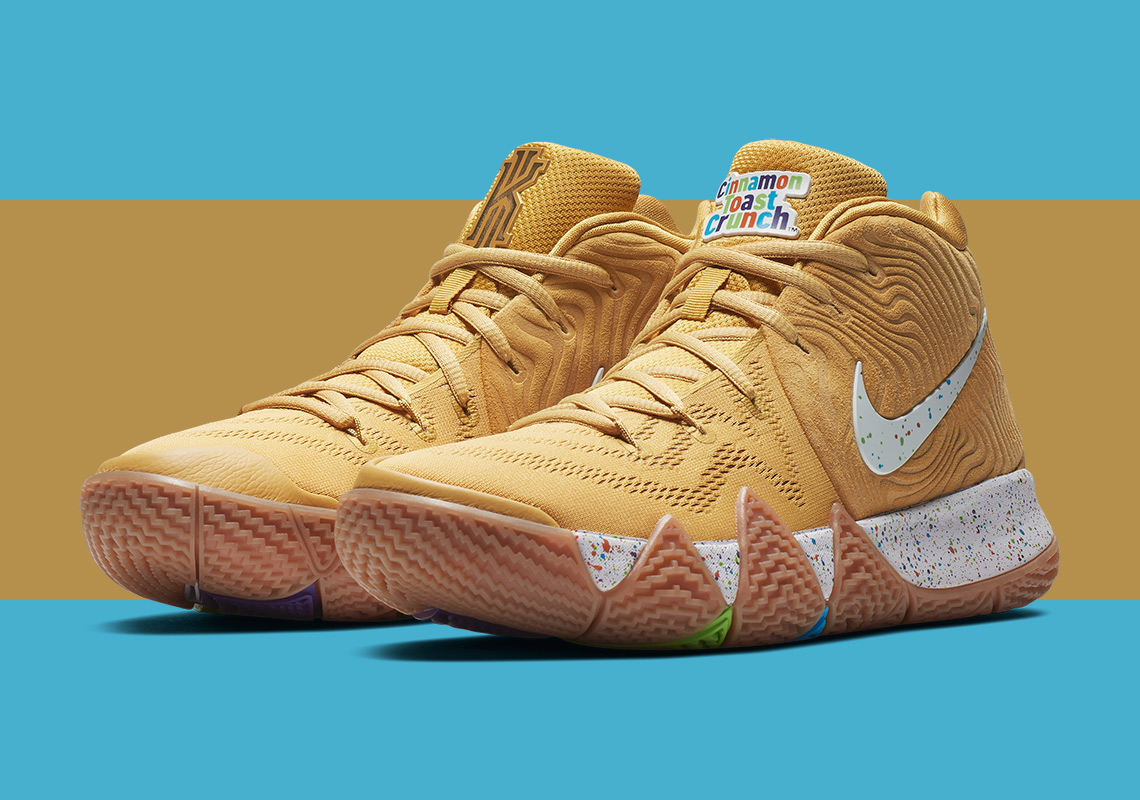 "df3d3c9d4f4f Finish Your Breakfast  Check Out the Nike Kyrie 4 ""Cereal"" Pack ..."