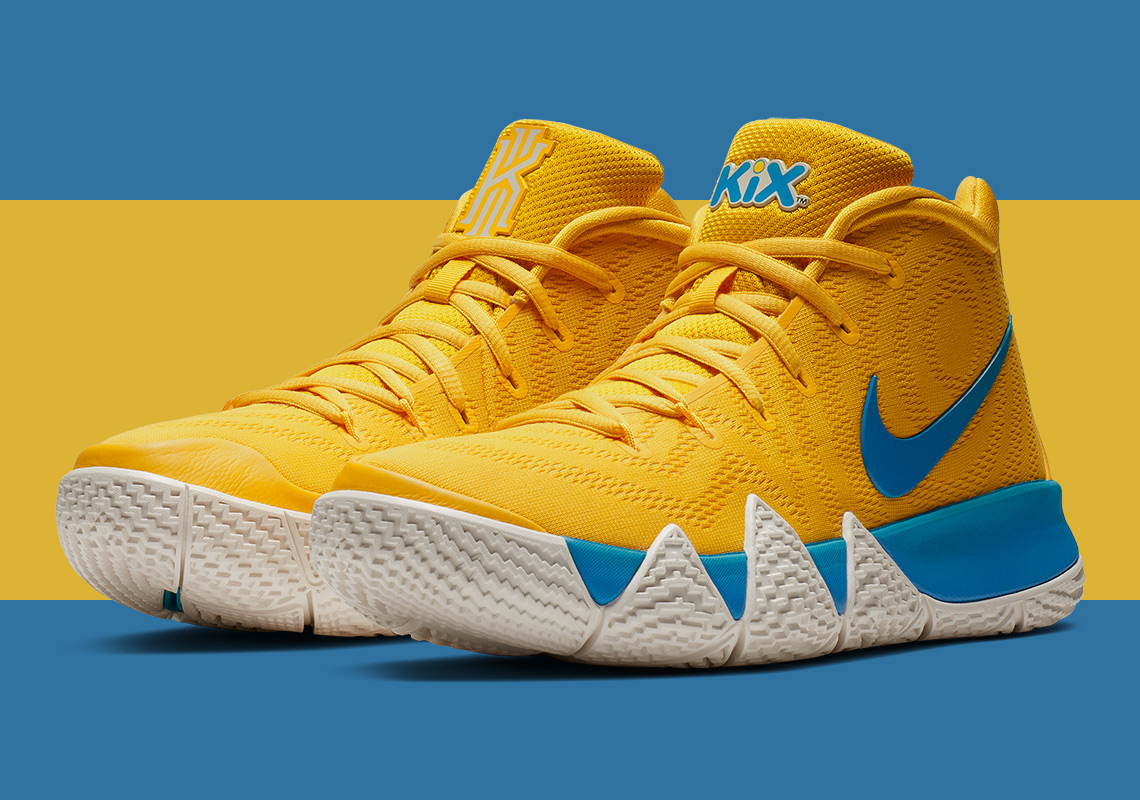 premium selection 87c4f 07ec8 Collaborating officially with General Mills, Kyrie and Nike give us savory  colorways to choose from based around three classic cereal brands  Kix, ...