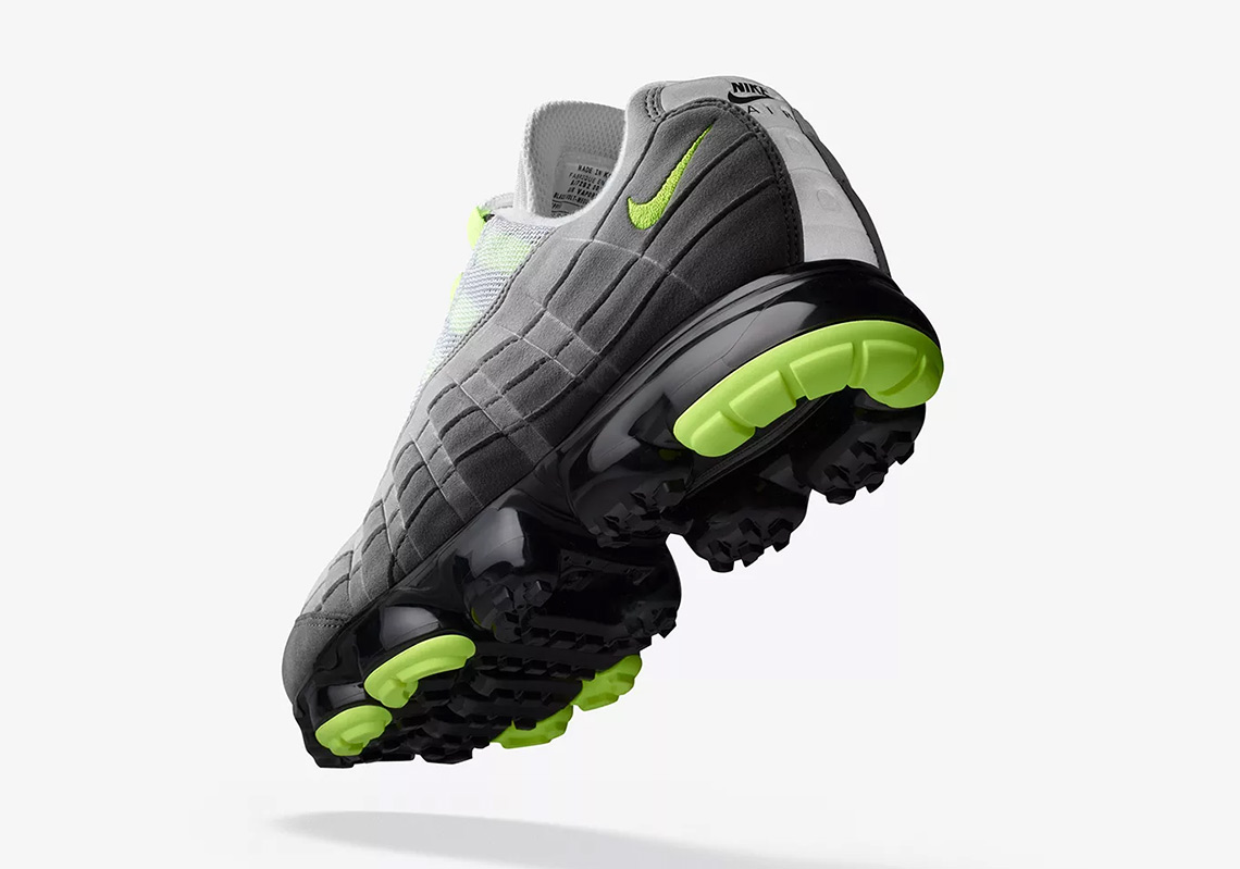 """92fc7475e10d6 Here's an Official Look at the Nike Vapormax 95 """"Neon"""""""