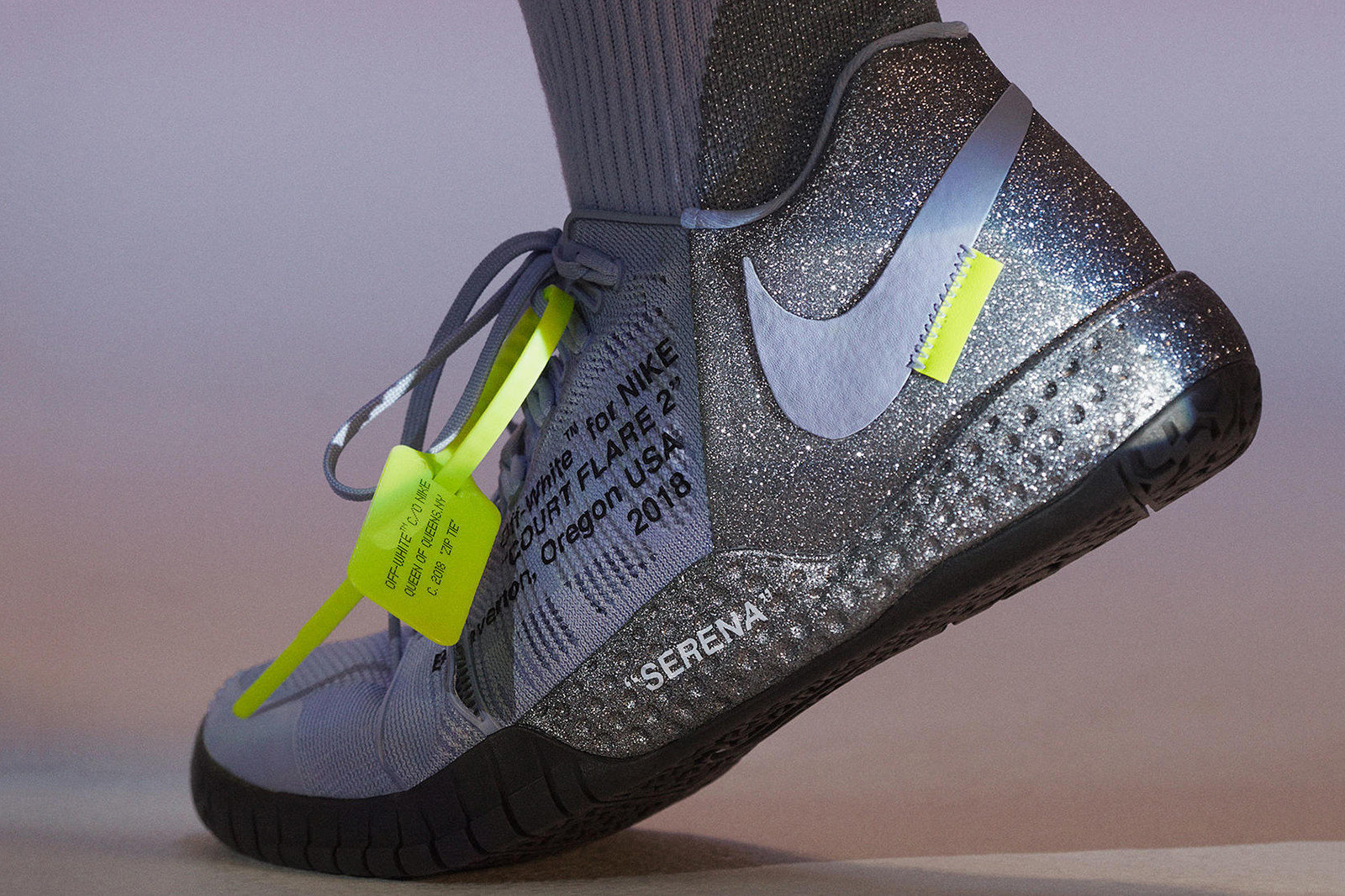 nike virgil abloh serena williams queen collection
