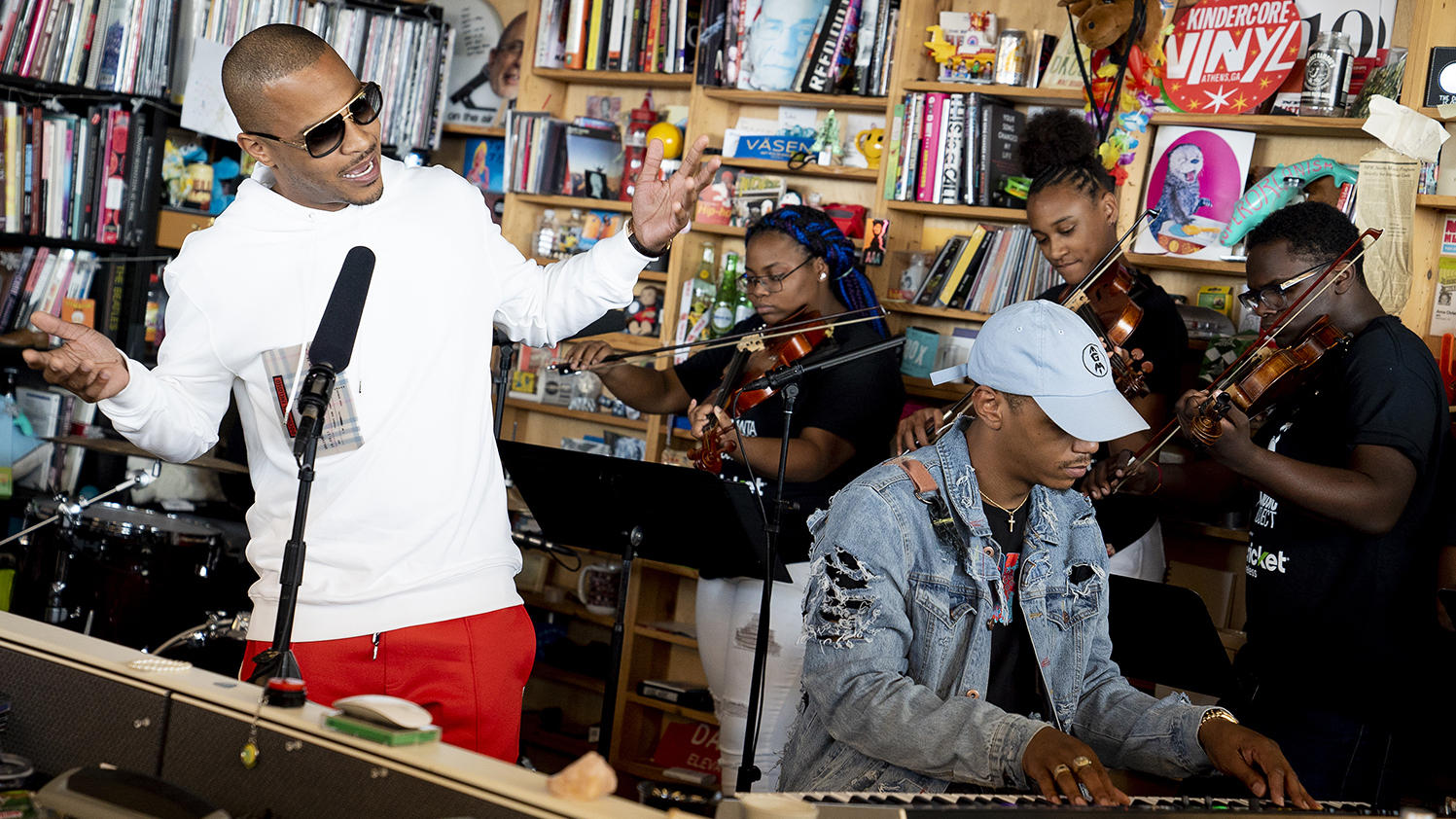 T.I. Delivers NPR Tiny Desk Concert with Atlanta Music Project