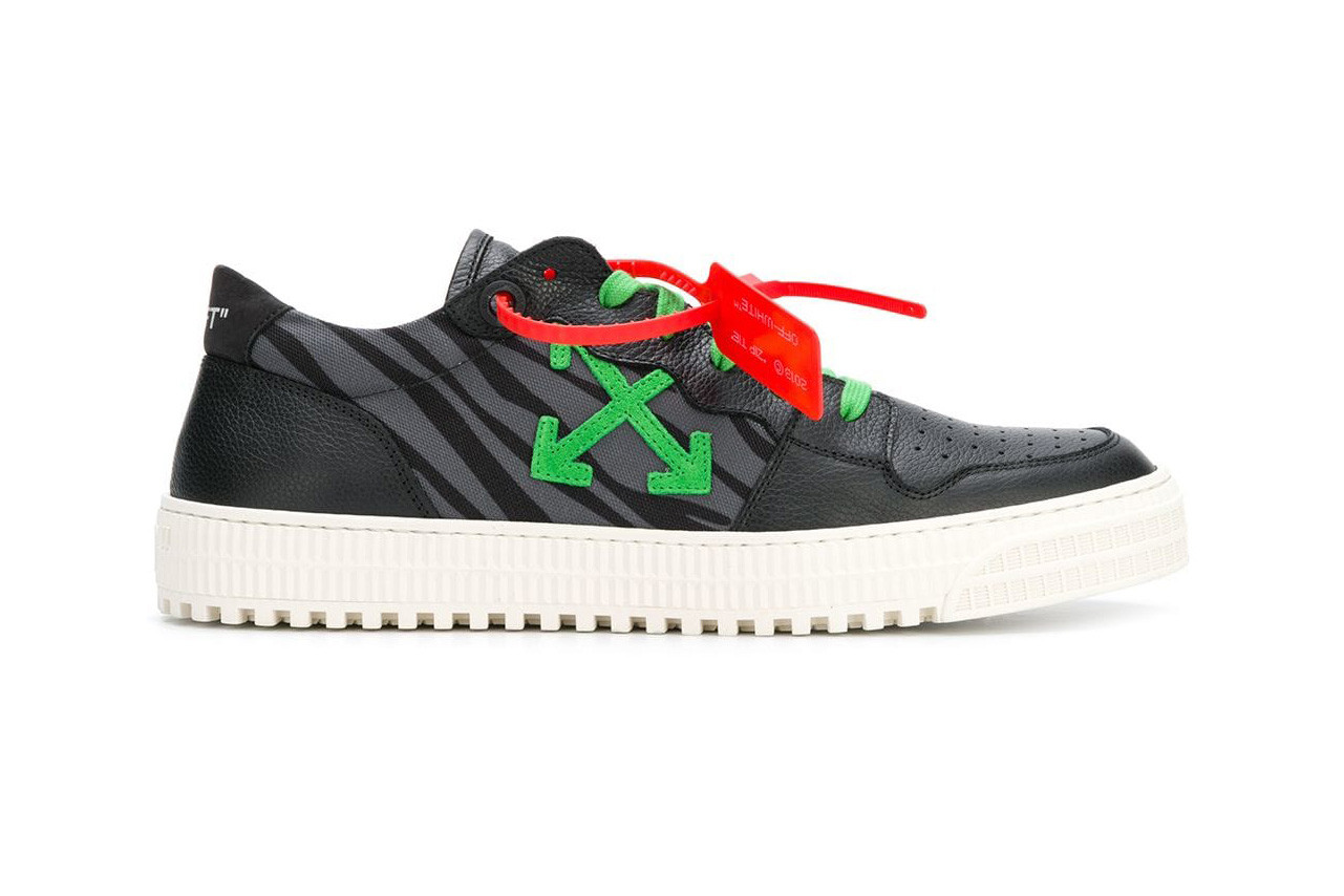 c4c9fe0e6079 The New OFF-WHITE™ Low-Top Trainers Pay Lowkey Homage to ATCQ
