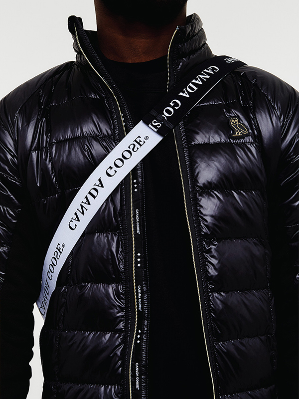 these ovo x canada goose jackets literally morph into cross body bags