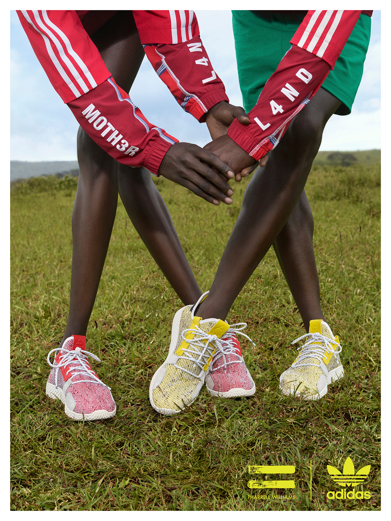 "ba335e2a1639f Pharrell   adidas Originals Head to Africa to Unveil the ""SOLARHU"" Pack"
