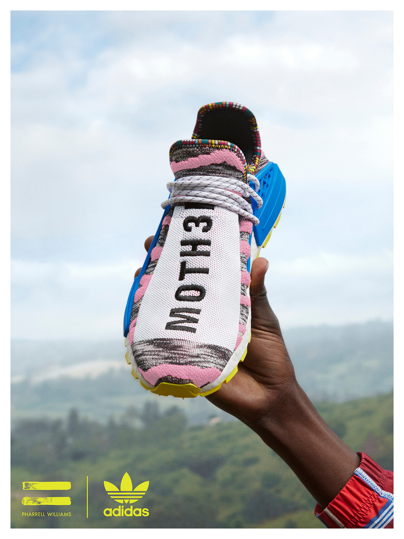 """7c7a7684a Expect the Pharrell x adidas Originals """"SOLARHU"""" Pack — mainly the standout  """"MOTH3R"""" NMD Hu silhouette — to arrive in the adidas Originals web store  and ..."""