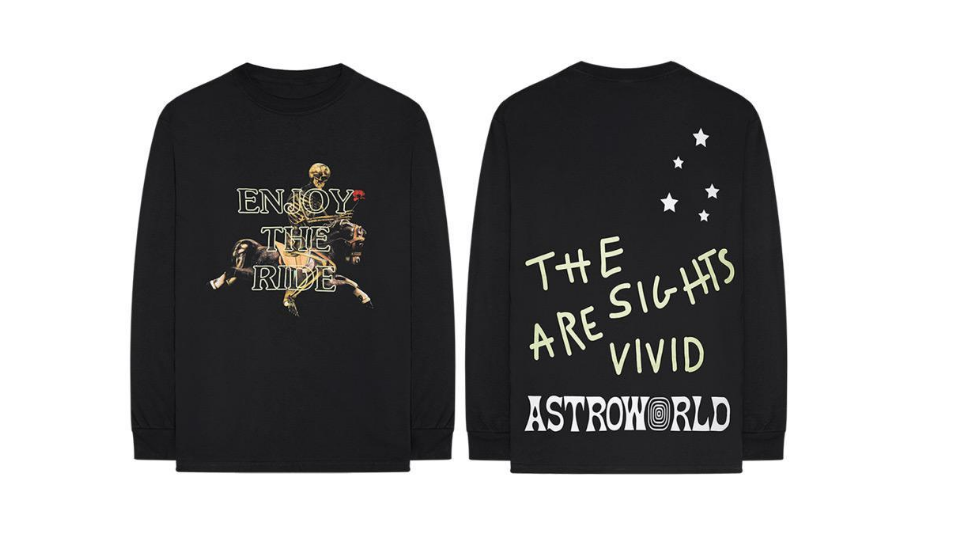 d3f630784c44 Here's Drop 2 of the Travis Scott 'Astroworld' 24-Hour Only Merch Collection