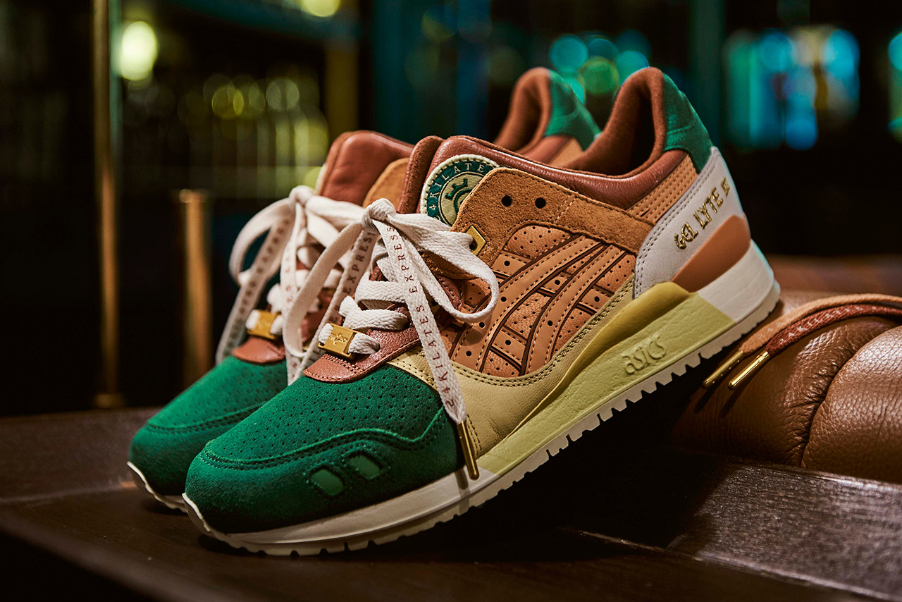 on sale 4b212 748f6 24 Kilates Puts a Luxe Spin on the ASICSTIGER GEL-LYTE III ...