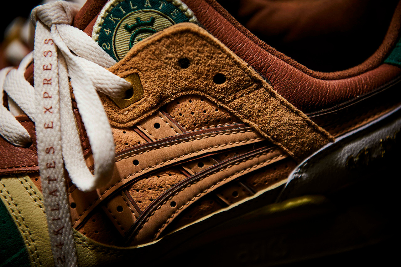 on sale e97b6 a86a5 24 Kilates Puts a Luxe Spin on the ASICSTIGER GEL-LYTE III ...