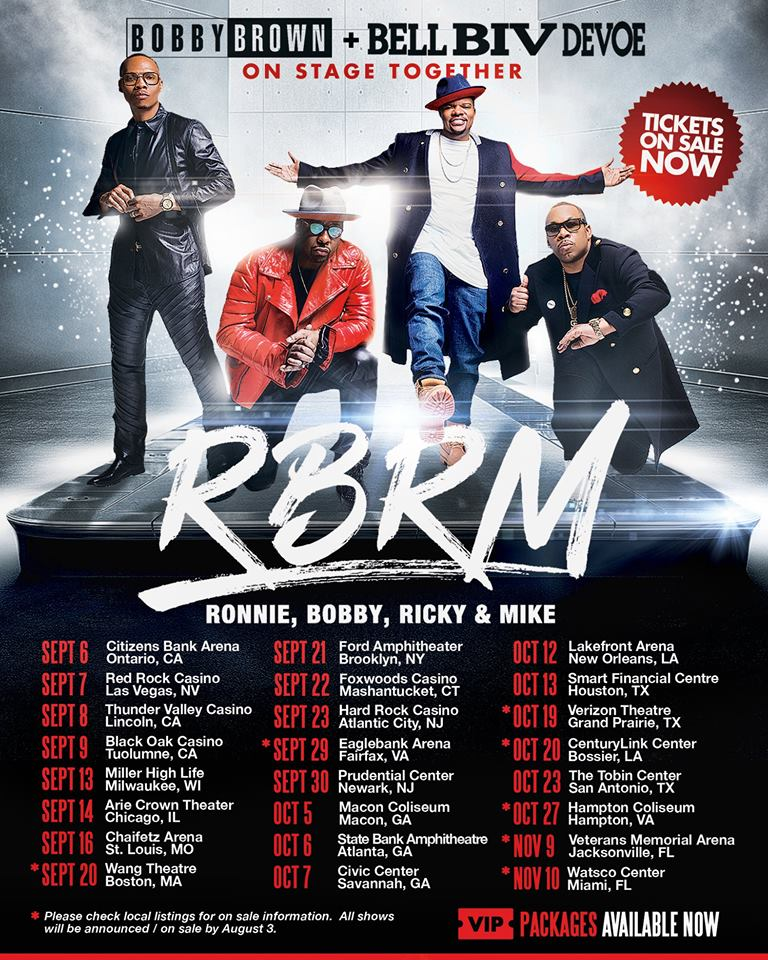 Sugarland Tour Dates And Concert Tickets: Bobby Brown Announces 'BBD Biopic' During RBRM Tour