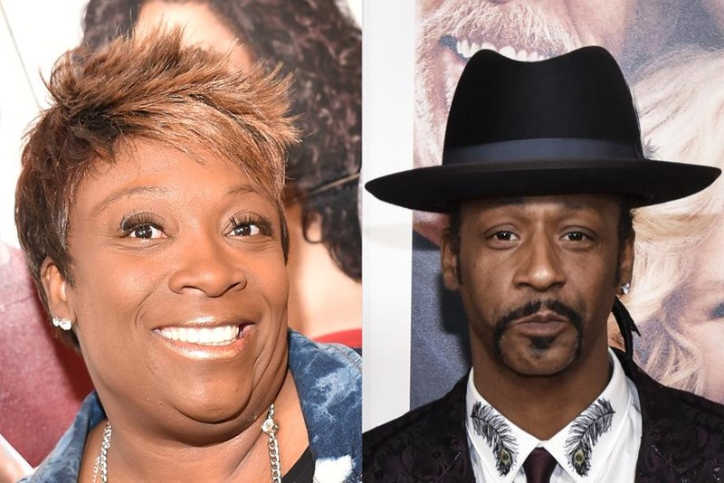 Police: Katt Williams threatened with gun by Wanda Smith's husband outside comedy club