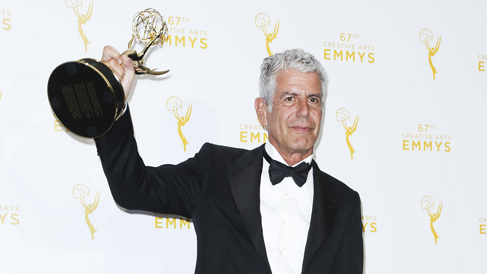 Anthony Bourdain Wins Six Posthumous Emmys