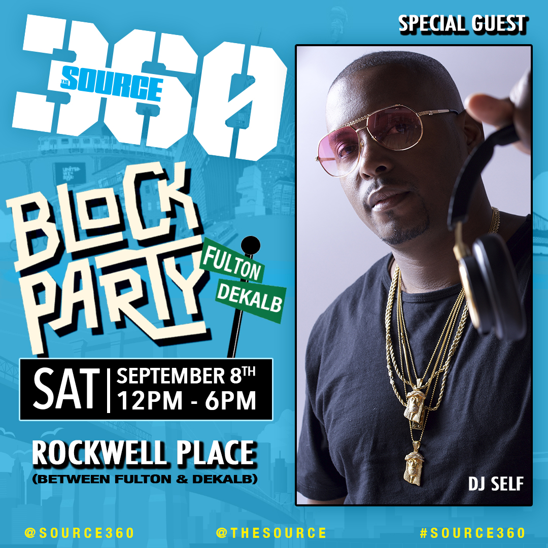 BLOCK PARTY DJ SELF