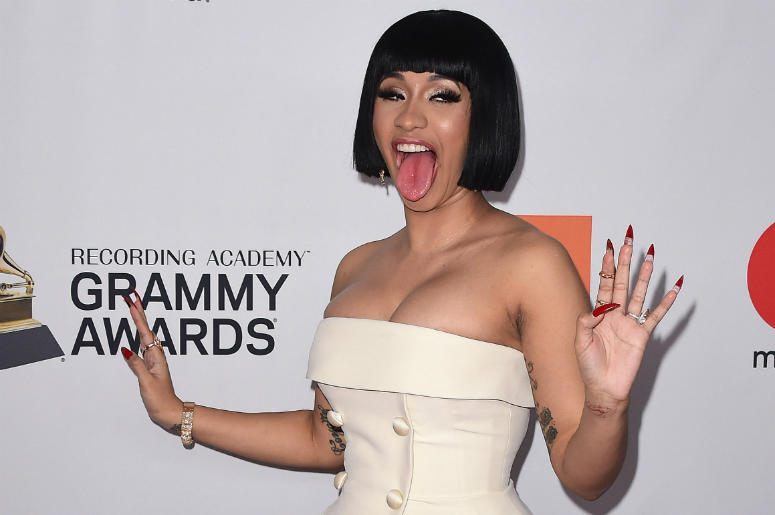 Cardi B's Shoe Throwing Reportedly Paid Off
