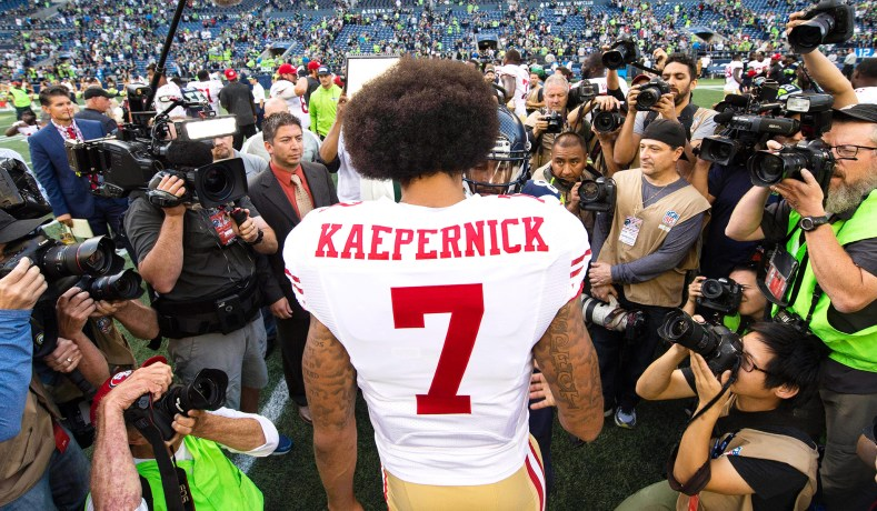 Colin Kaepernick is Selling 'IM WITH KAP' Jerseys
