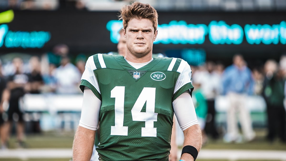 New York Jets Announce Rookie Sam Darnold as Week One Starting Quarterback