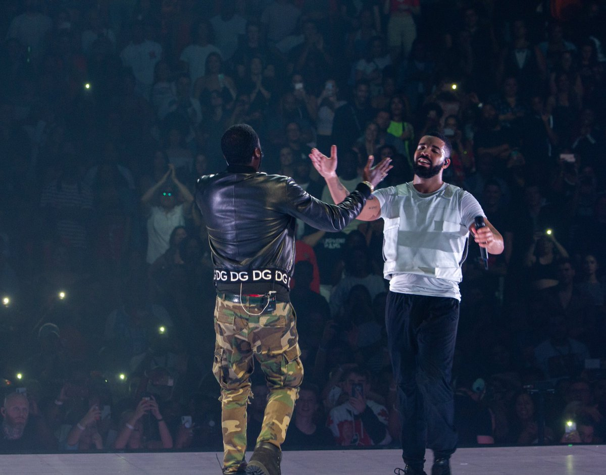 Drake Brings Meek Mill to Philly 'Aubrey & The Three Migos' Tour Stop