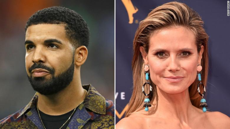 Heidi Klum Swerved Drake's Text Asking her Out