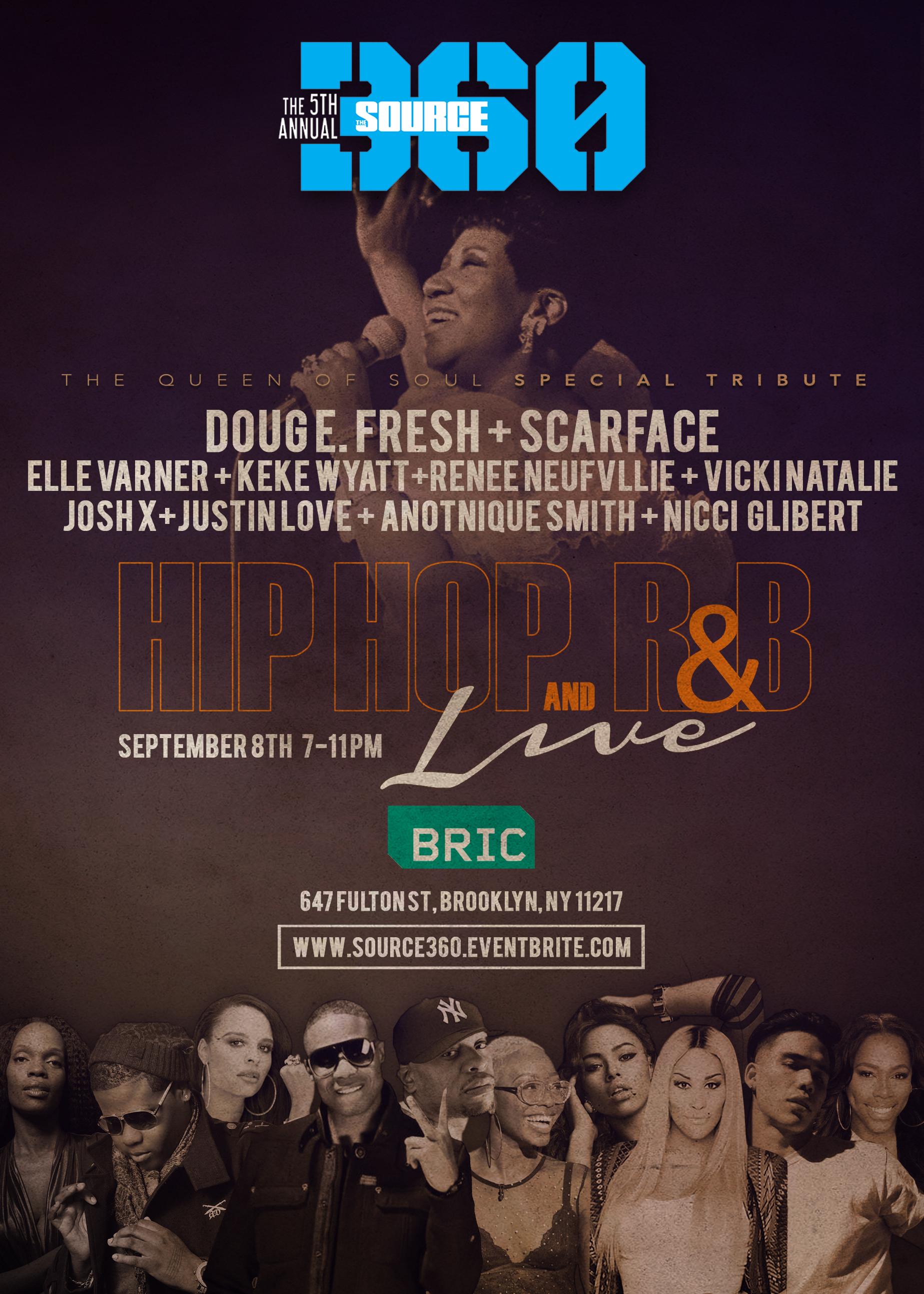 DougE.Fresh,Scarface,ElleVarner,KeKeWyatt&MoretoHonorArethaFranklinatthAnnualSOURCEFestival&MusicConference