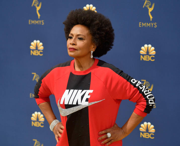 Jennifer Lewis Rocked Nike at Emmys Red Carpet in Support of Colin Kaepernick