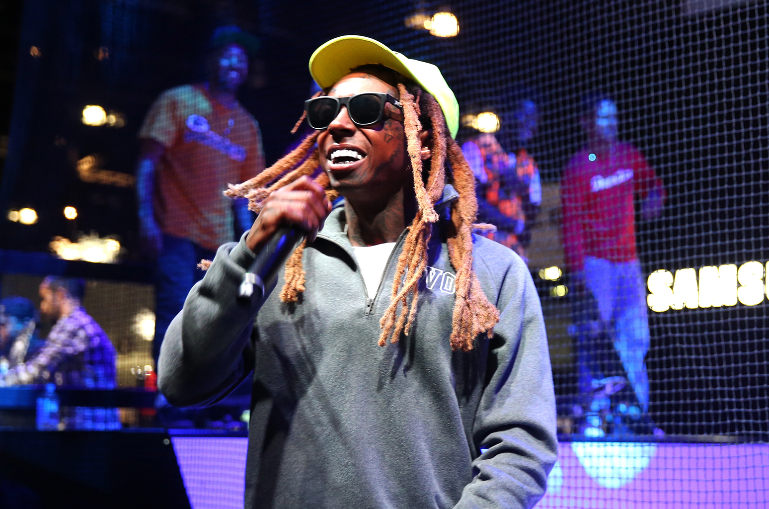 Lil Wayne performs samsung june  billboard