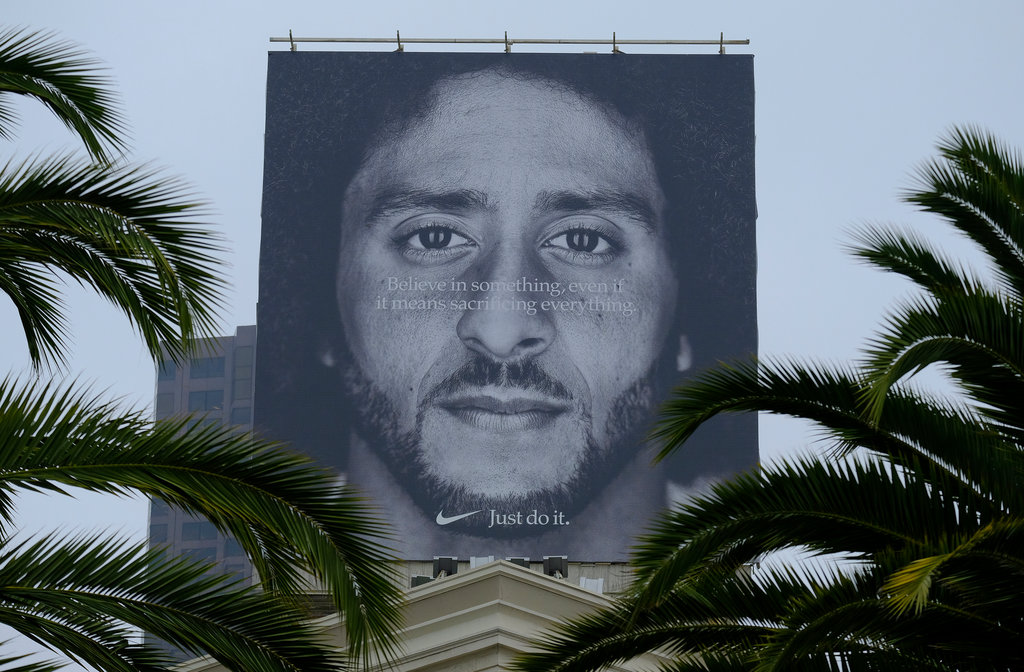 Nike's Colin Kaepernick Ad Set to Air During NFL's Opening Telecast