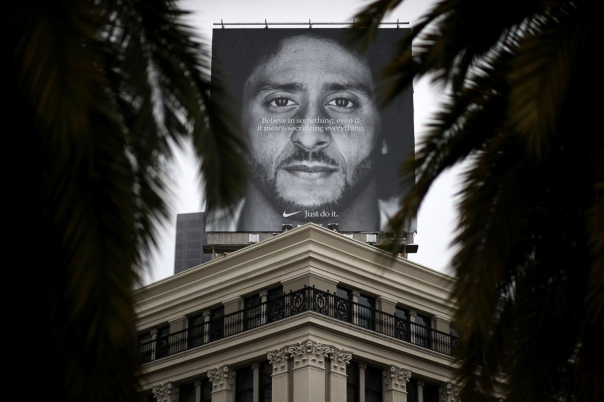 Nike's Online Sales Increased 31% Amid Colin Kaepernick Ad