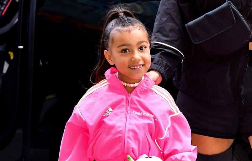 North West Kim Kardashian Proud With Runway Debut