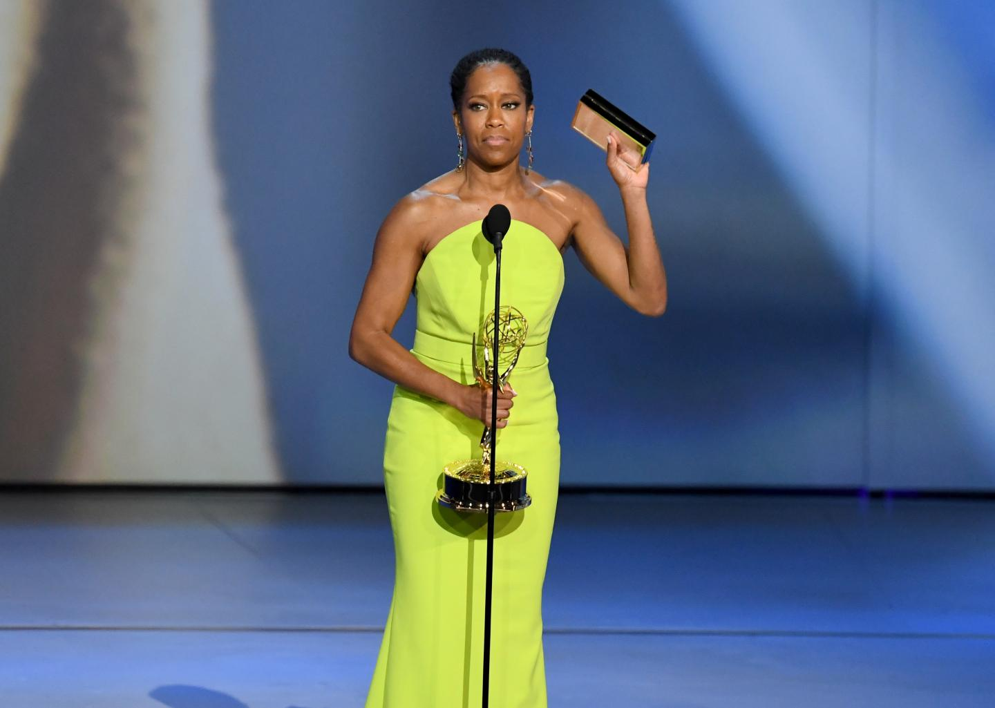 Regina King Takes Home Third Emmy for Canceled Series, 'Seven Seconds'